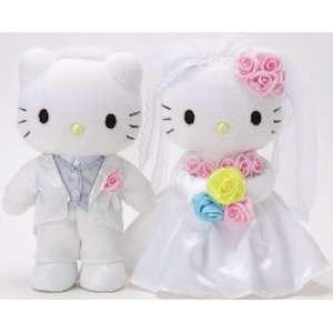 Hello Kitty   Happy Wedding Bridal Plush SET w/ Kitty & Dear Daniel