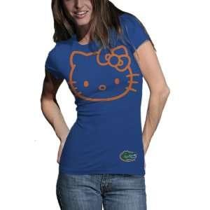 Gators Hello Kitty Inverse Junior Crew Tee Shirt