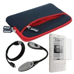 Premuim skque red glove series case+6 inch series LCD screen