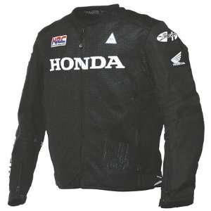 Joe Rocket Honda Performance Mesh Textile Mens Motorcycle Jacket Black