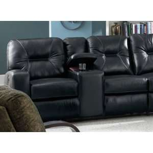 Lane Taylor Left Arm Power Recliner with Console & Armless