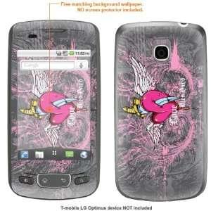 STICKER for T Mobile LG Optimus case cover Optimus 259 Electronics