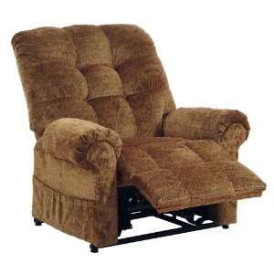 Catnapper Omni Havana Power Lift Full Lay Out Chaise Recliner