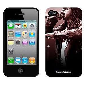 Lil Wayne On Mic on AT&T iPhone 4 Case by Coveroo