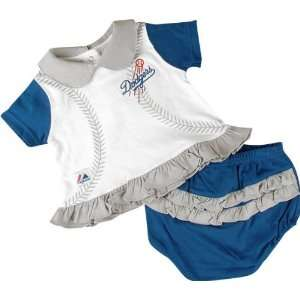Los Angeles Dodgers Baseball Baby Two Piece Outfit Sports