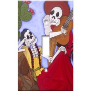 Switch Plate Cover Serenata de los Muertos Day of Dead