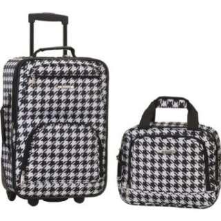 Rockland Luggage Rio 2 Piece Carry On Luggage Set Clothing