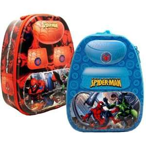 Spiderman Tin Lunch Box Bag (set of 2), Spiderman backpack