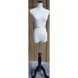 New White Female Travel Dress Form Size 6 8 Medium 35 32