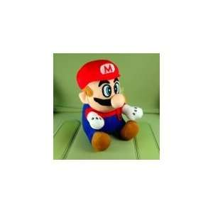 Super Mario Bros MARIO Plush Doll Figure w/ Suction Cup
