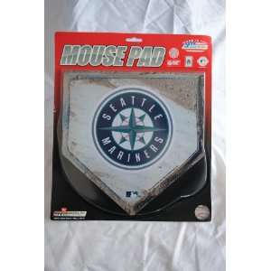 MLB Seattle Mariners Home Plate Design Mouse Pad
