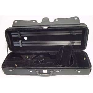 Oblong Violin Case 4/4 Full Size (Black) Musical Instruments