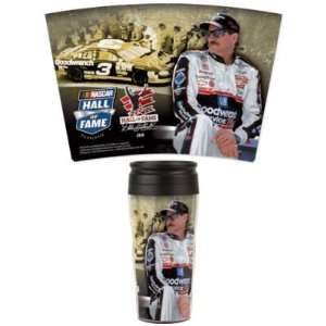 NASCAR DALE EARNHARDT SR. OFFICIAL LOGO 16OZ TRAVEL MUG
