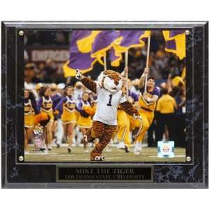 NCAA LSU Tigers 10.5 x 13 Mascot Plaque: Home