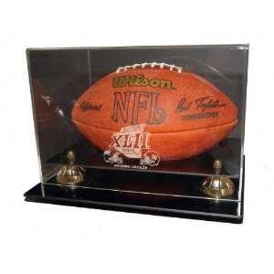 Super Bowl XLII Logo NFL Football Coachs Choice Display