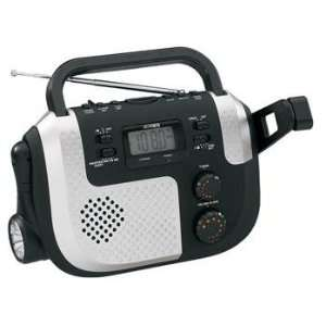 Jensen Portable Self Powered AM/FM/NOAA Weather Band Radio