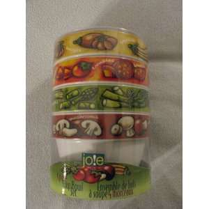 MSC Joe 4 Piece Soup Bowl Set