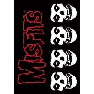 Misfits Logo Fabric Music Poster: Home & Kitchen