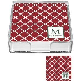Preppy Plates   Personalized Coasters (Mod Christmas