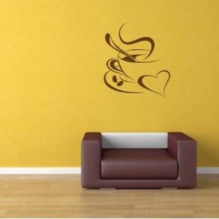 Coffee Cup Java   Vinyl Wall Decal Sticker Decor