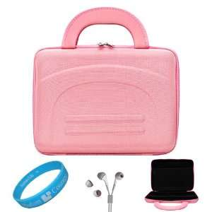 Pink Cube Series Shell Hard Carrying case for Samsung