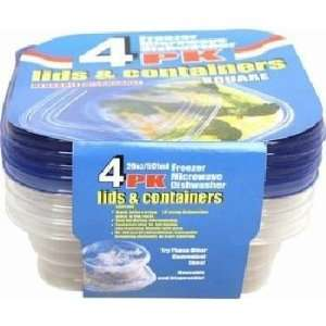 Plastic Storage Containers 20 oz Case Pack 96 Everything