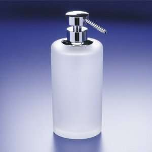 90432M Frosted Crystal Glass Soap Dispenser 90432M Home & Kitchen