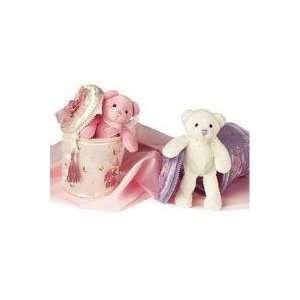 White Hidden Treasure Purses with Teddy Bear Toys & Games