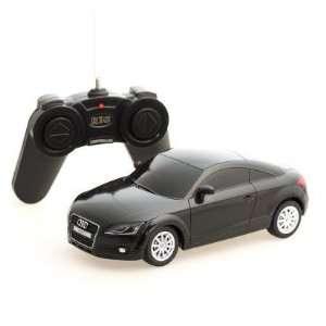 124 Scale Audi TT Black Radio Remote Control Car Toys & Games
