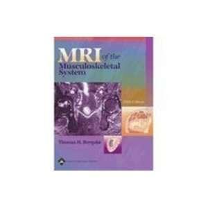 Mri Musculoskeletal System (9780397446445) Javier