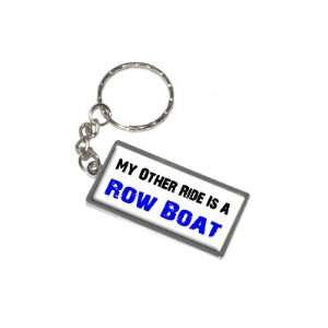 Other Ride Vehicle Car Is A Row Boat New Keychain Ring Automotive