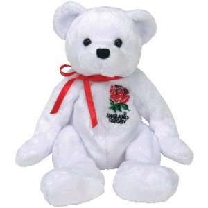 TY Beanie Baby   SCRUM the Rugby Bear (UK Exclusive) Toys & Games