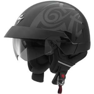 SCORPION HELMETS EXO 100 TRIBAL BLACK XS Automotive