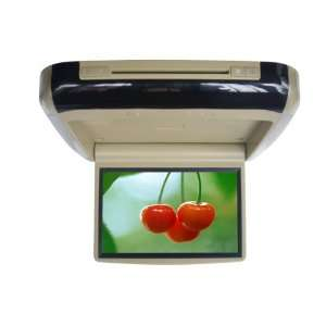 TFT LCD Monitor Flip Down DVD player Monitor/Beige: Car Electronics