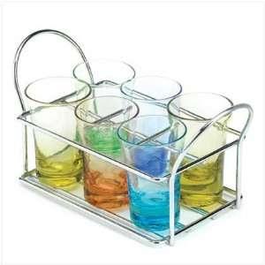 Multi color Shot Glass Set