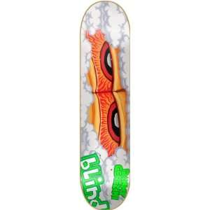 Blind Cerezini Eyes Skateboard Deck   7.6 Eternal Life 2