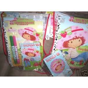 Strawberry Shortcake Coloring Books/Stickers