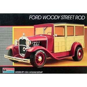 #2749 Monogram Ford Woody Street Rod 1/24 Plastic Model
