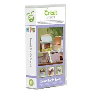 Cricut Sweet Tooth Boxes Cartridge Arts, Crafts & Sewing