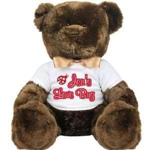 Love Bug Teddy Custom Large Plush Teddy Bear Toys & Games