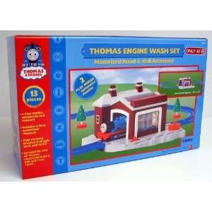 Thomas the Tank Engine Wash Set  Motorized Road and Rail Accessory