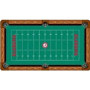 Alabama Crimson Tide Billiard Table Felt NCAA College Athletics Fan
