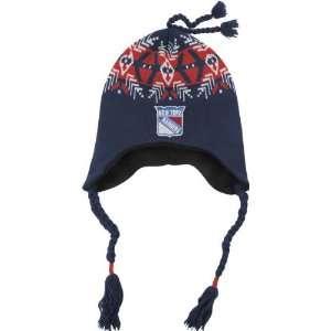New York Rangers Old Time Hockey Alpine Knit Hat  Sports
