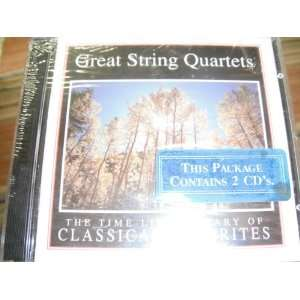 Time Life Library of Classical Favorites, Great String Quartets 2 CDS