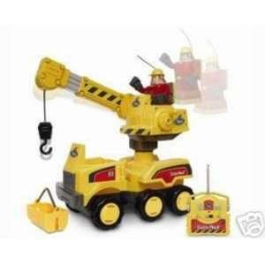 Remote Control Mack Crane Truck Rc Car & Worker