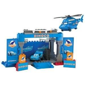 Mega Bloks Cars Dinoco Stage  Toys & Games