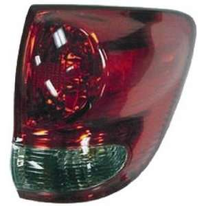 QP T603A a Toyota Sequoia Passenger Tail Light Lamp