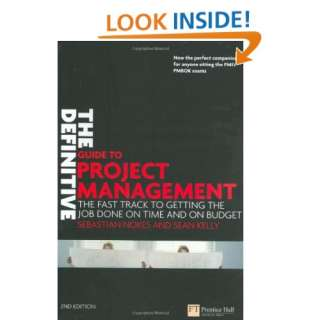 The Definitive Guide to Project Management The fast track