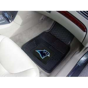 NFL Heavy Duty Vinyl Car Floor Mats (2 Front)