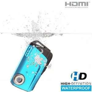 SVP Aqua HDV1000 Blue Waterproof Digital Camcorder Camera & Photo